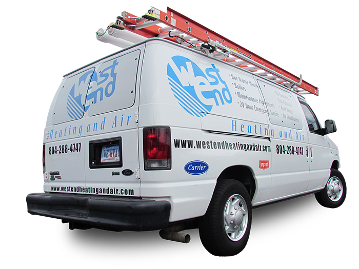 HVAC West End Heating and Air Van